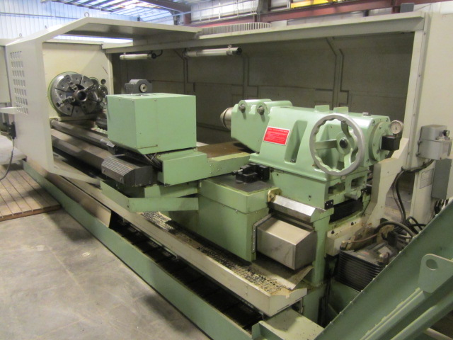 kingston model ck3000 hollow spindle oil field cnc flat bed lathe with double front & back 24'' 4 mazak mate lathe wiring schematic #4
