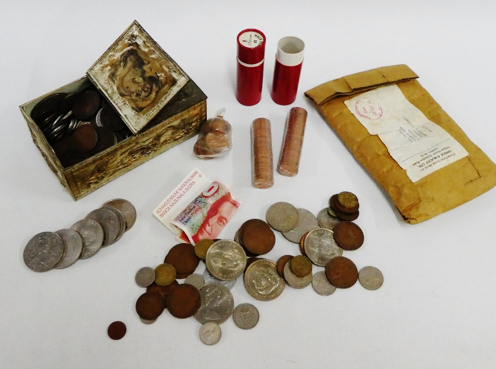 Lot 56 - A quantity of pre decimal and later coinage (a lot)