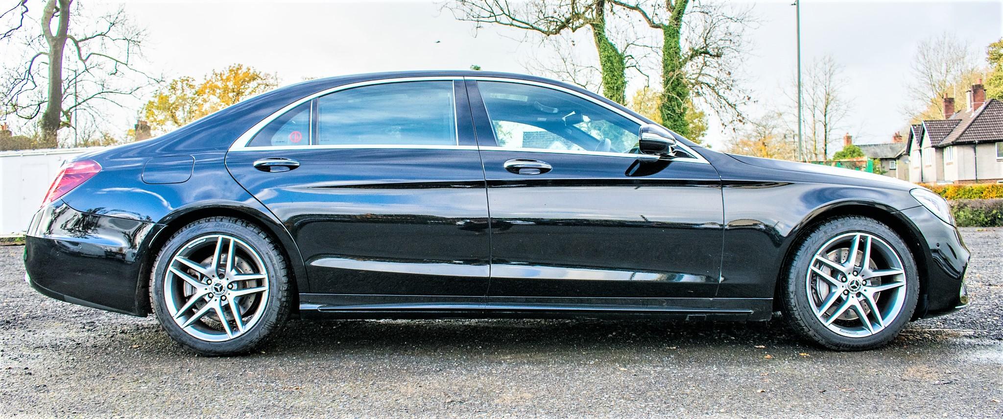 Mercedes Benz S450 L AMG Line Executive auto petrol 4 door saloon car Registration Number: FX68 - Image 7 of 30