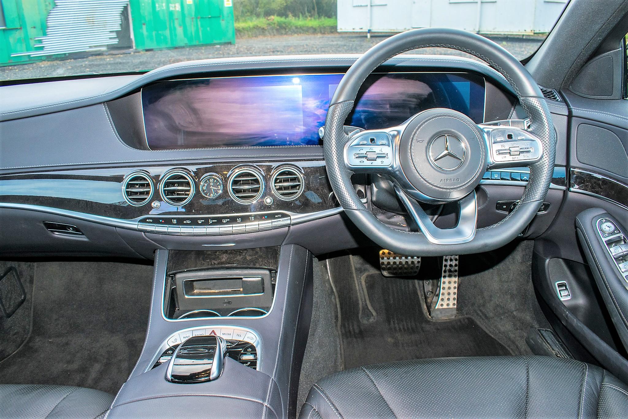 Mercedes Benz S450 L AMG Line Executive auto petrol 4 door saloon car Registration Number: FX68 - Image 27 of 33