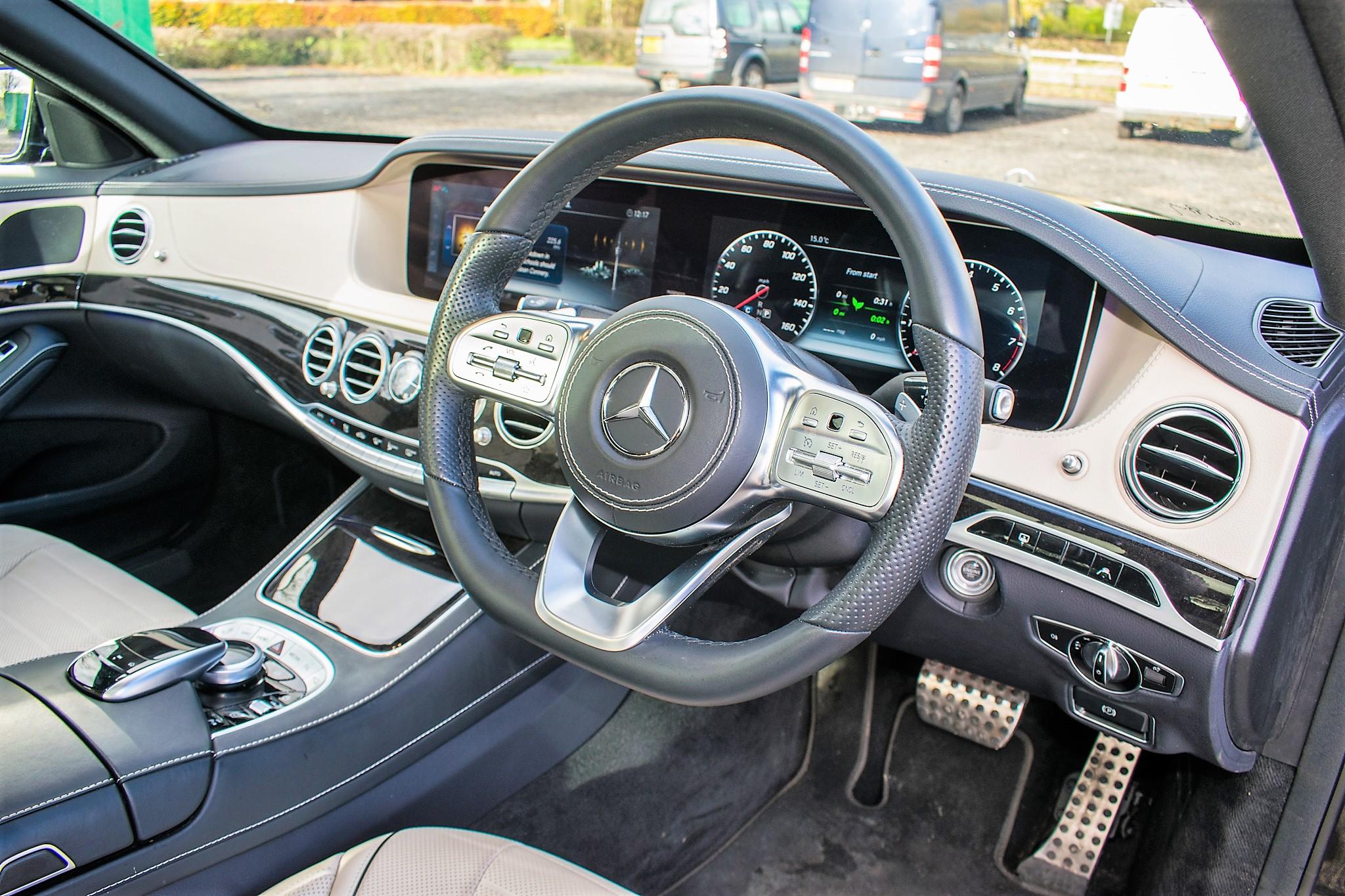 Mercedes Benz S450 L AMG Line Executive auto petrol 4 door saloon car Registration Number: FX68 - Image 27 of 30