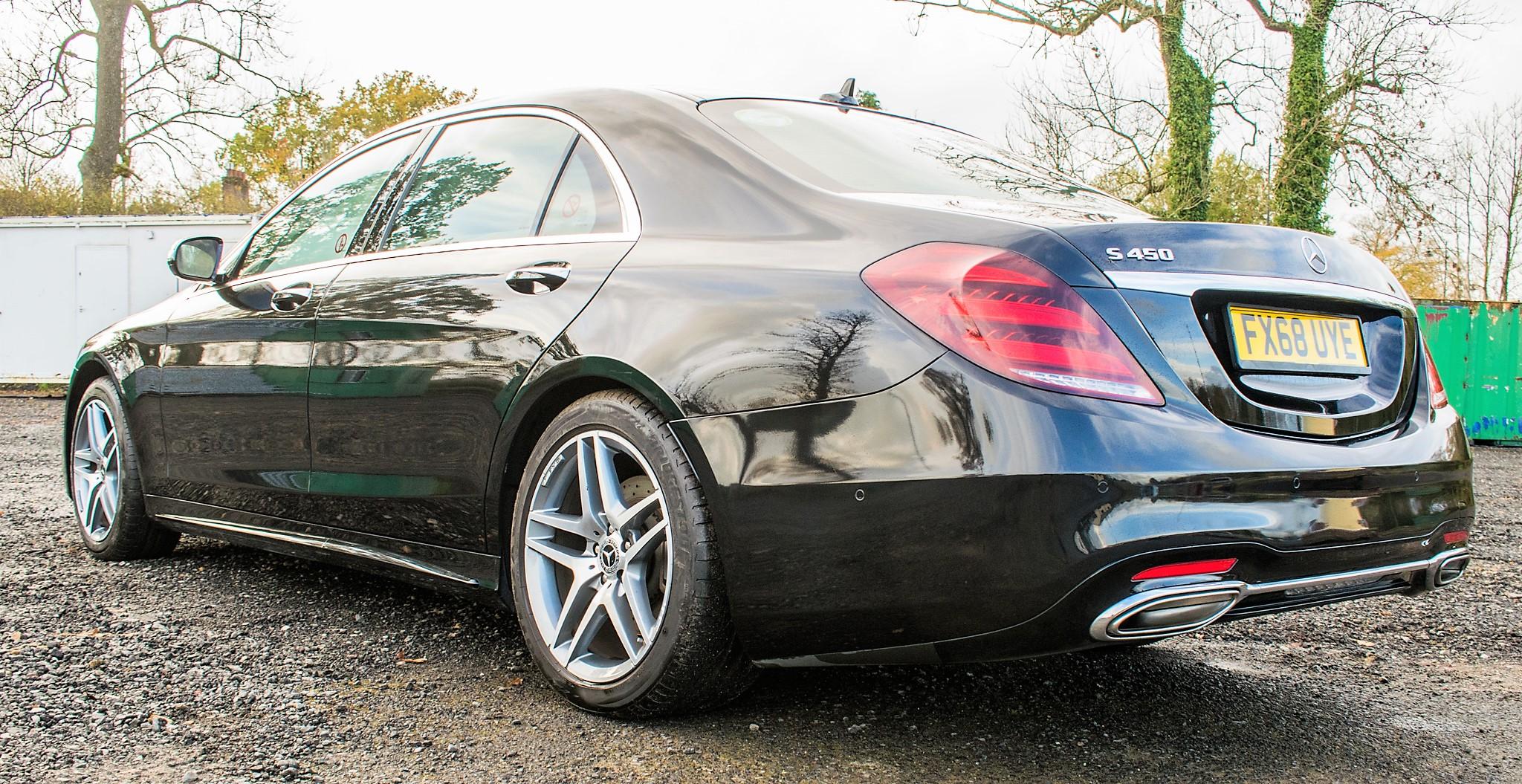 Mercedes Benz S450 L AMG Line Executive auto petrol 4 door saloon car Registration Number: FX68 - Image 4 of 33