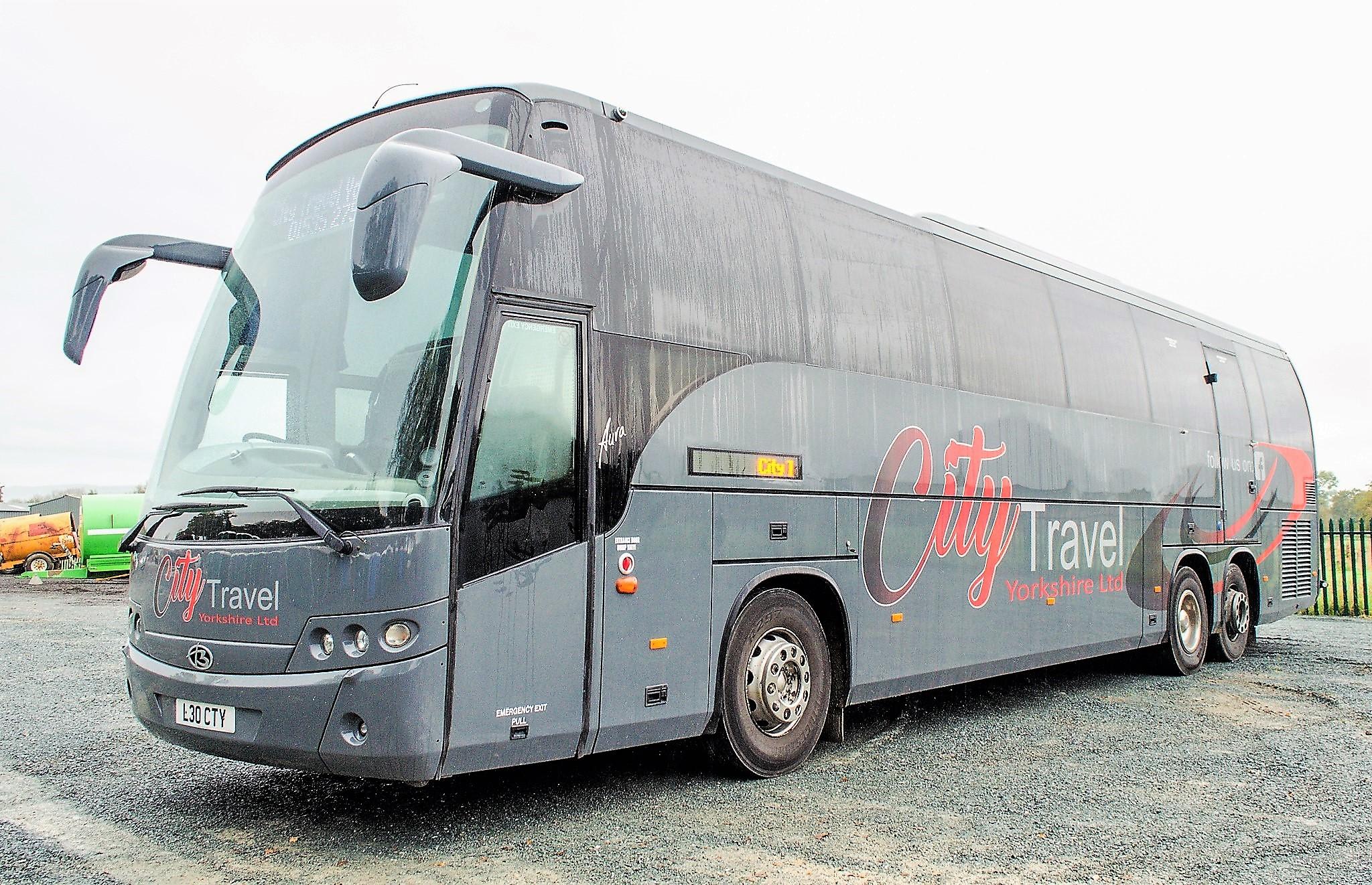 MAN F2000 Beulas Aura 54 seat luxury coach Registration Number: KC08 KTC Date of Registration: 30/