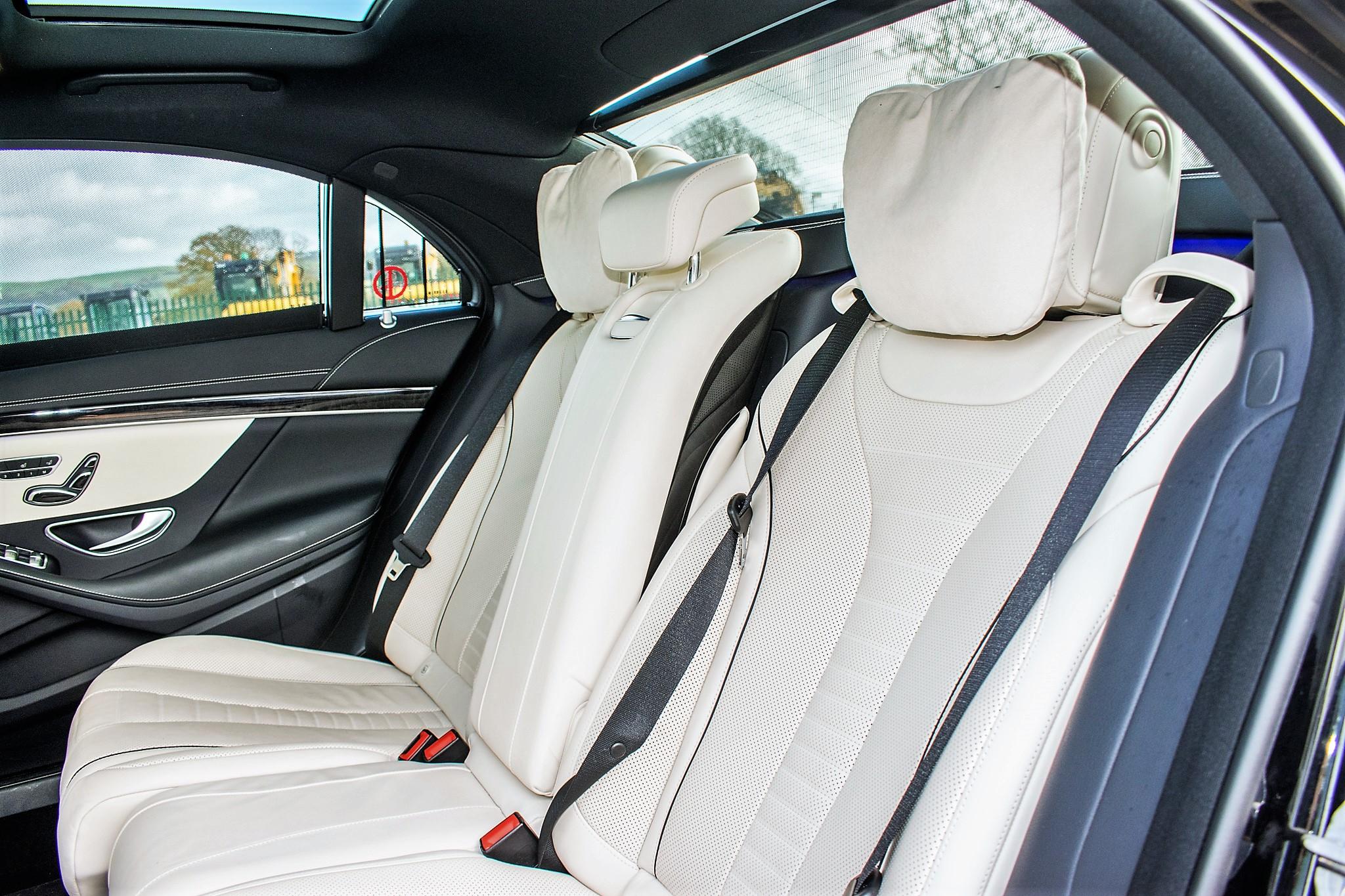 Mercedes Benz S450 L AMG Line Executive auto petrol 4 door saloon car Registration Number: FX68 - Image 23 of 30