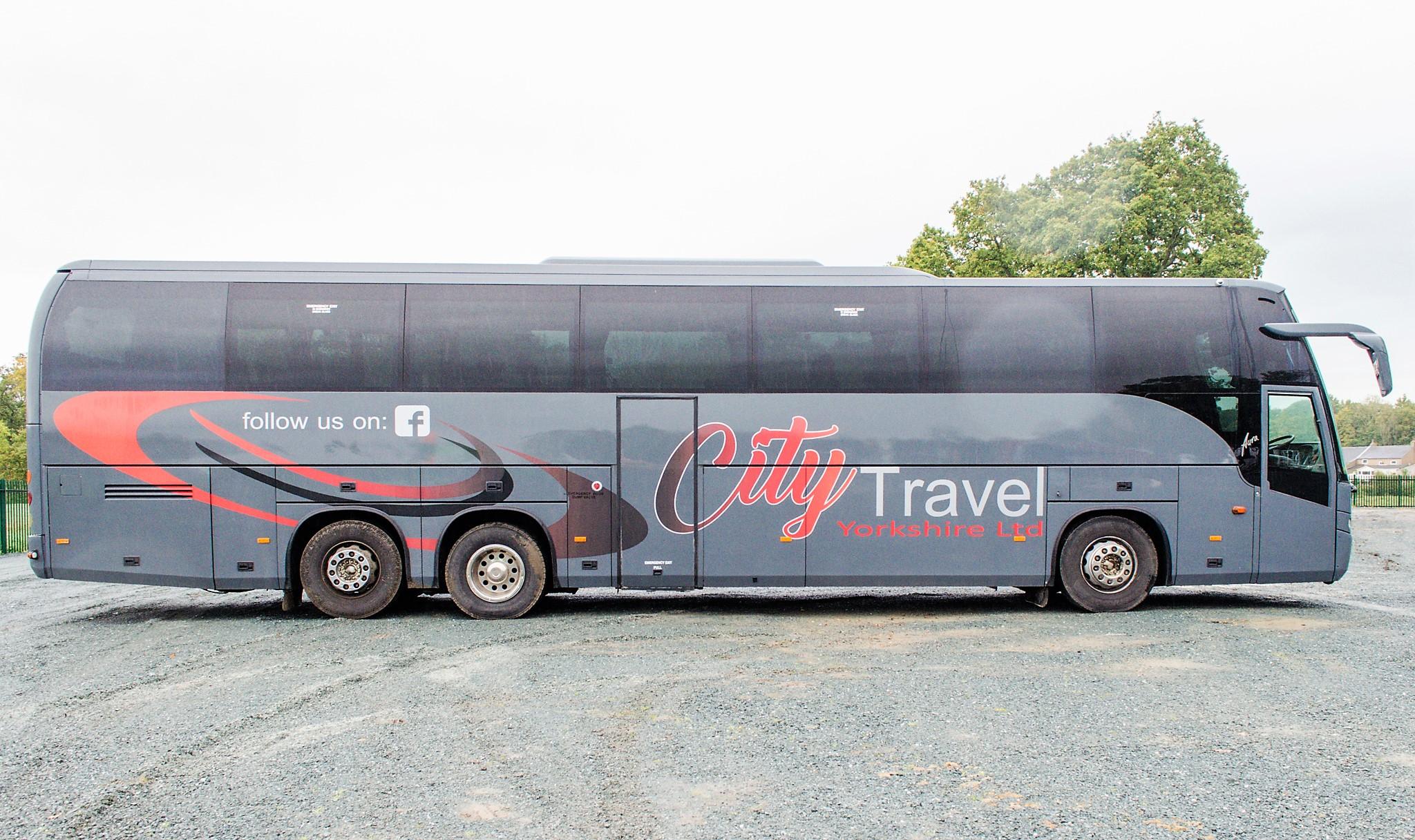 MAN F2000 Beulas Aura 54 seat luxury coach Registration Number: KC08 KTC Date of Registration: 30/ - Image 8 of 19