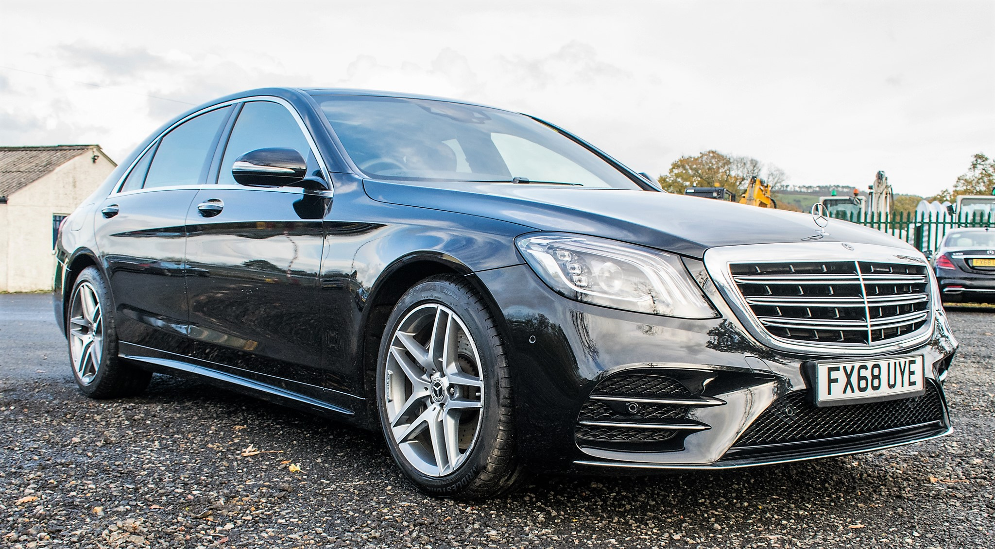 Mercedes Benz S450 L AMG Line Executive auto petrol 4 door saloon car Registration Number: FX68 - Image 2 of 33