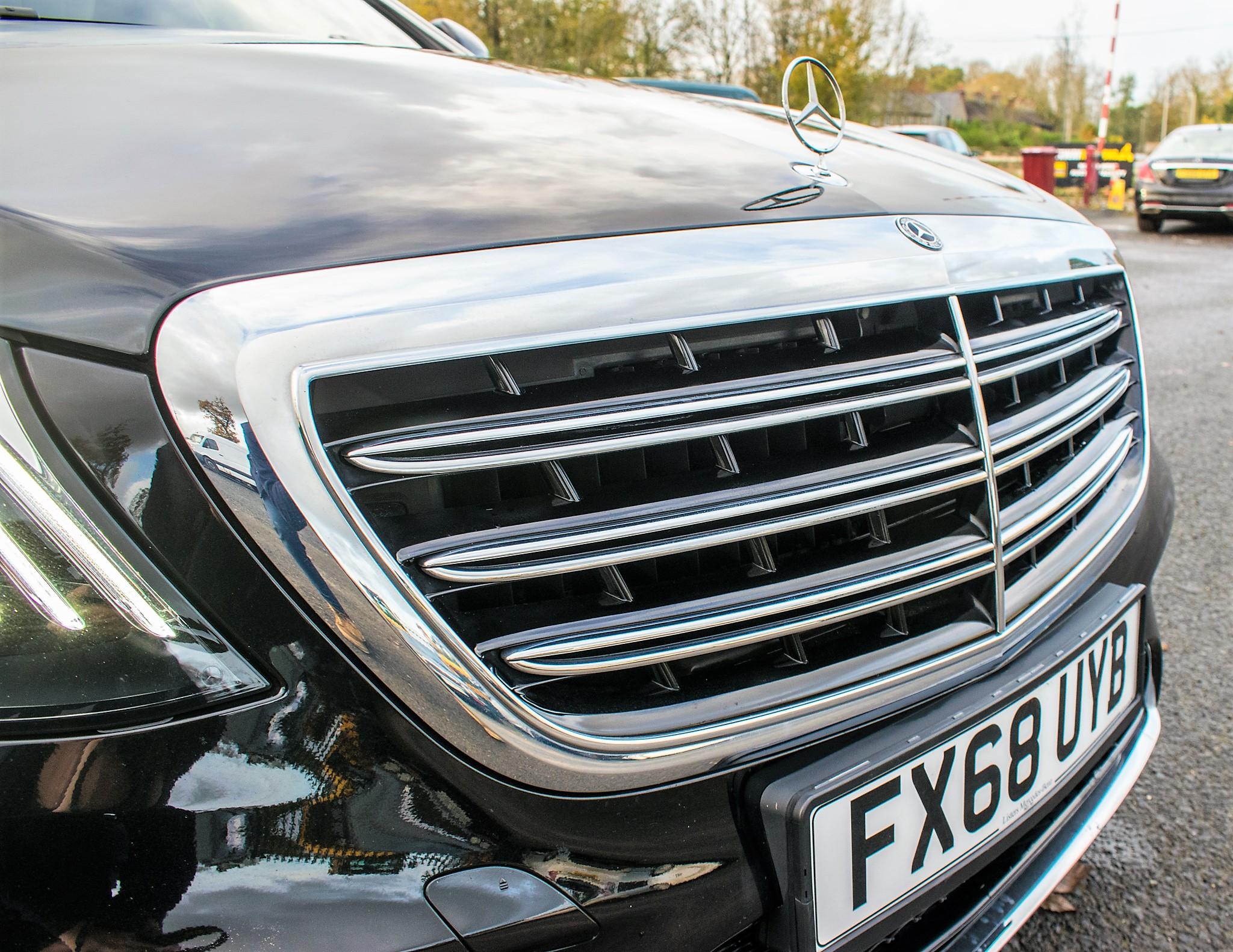 Mercedes Benz S450 L AMG Line Executive auto petrol 4 door saloon car Registration Number: FX68 - Image 17 of 33