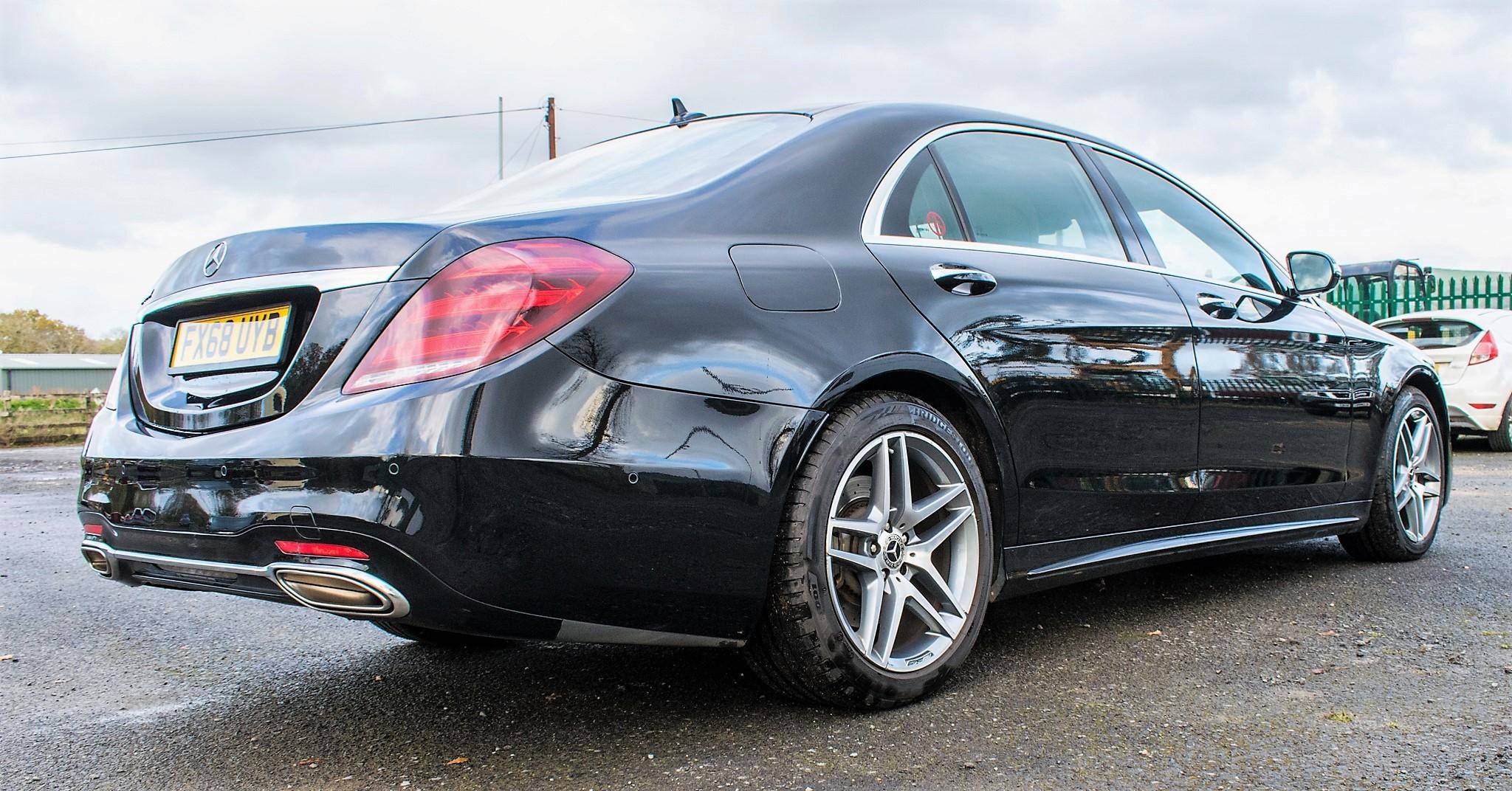 Mercedes Benz S450 L AMG Line Executive auto petrol 4 door saloon car Registration Number: FX68 - Image 3 of 33