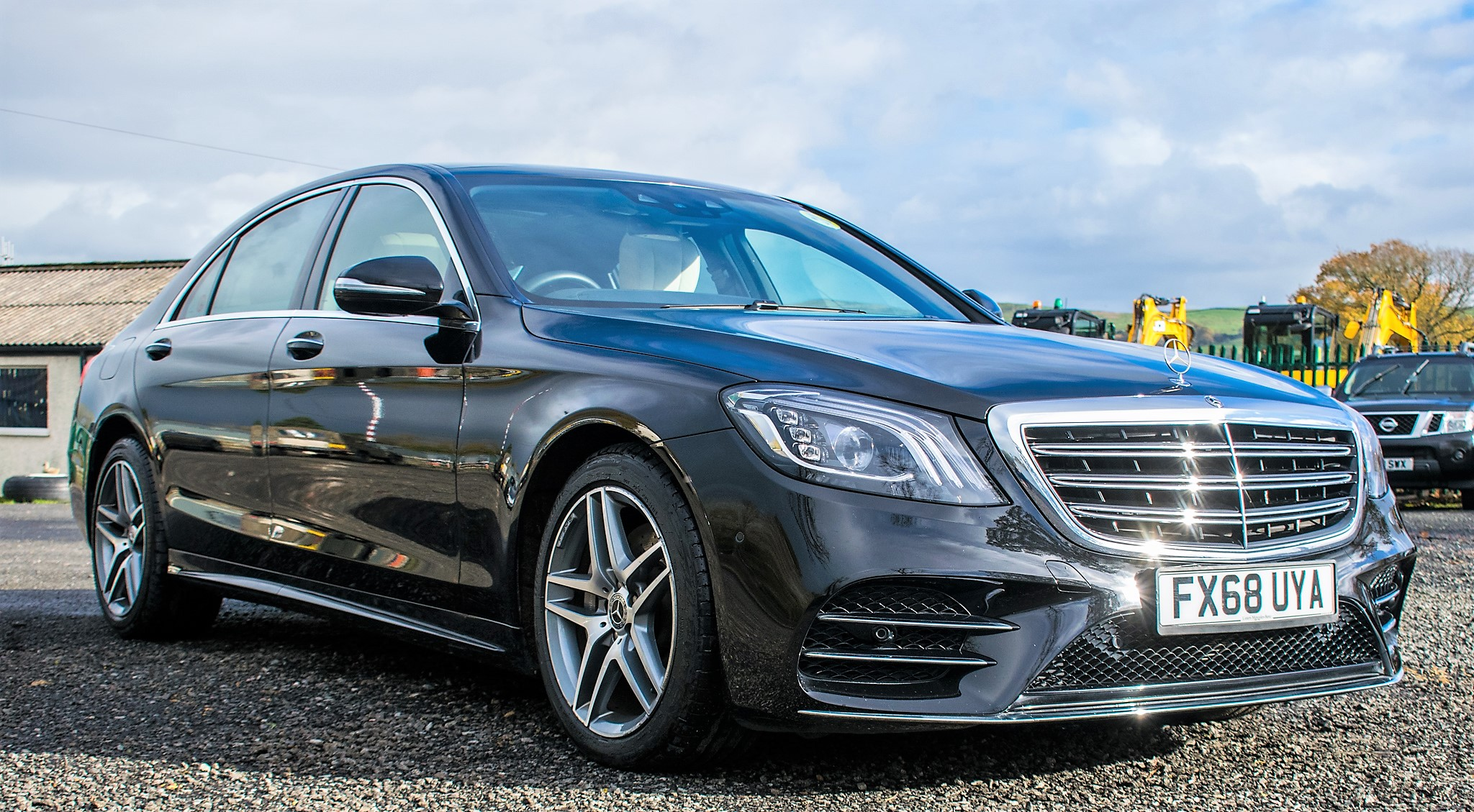 Mercedes Benz S450 L AMG Line Executive auto petrol 4 door saloon car Registration Number: FX68 - Image 2 of 30