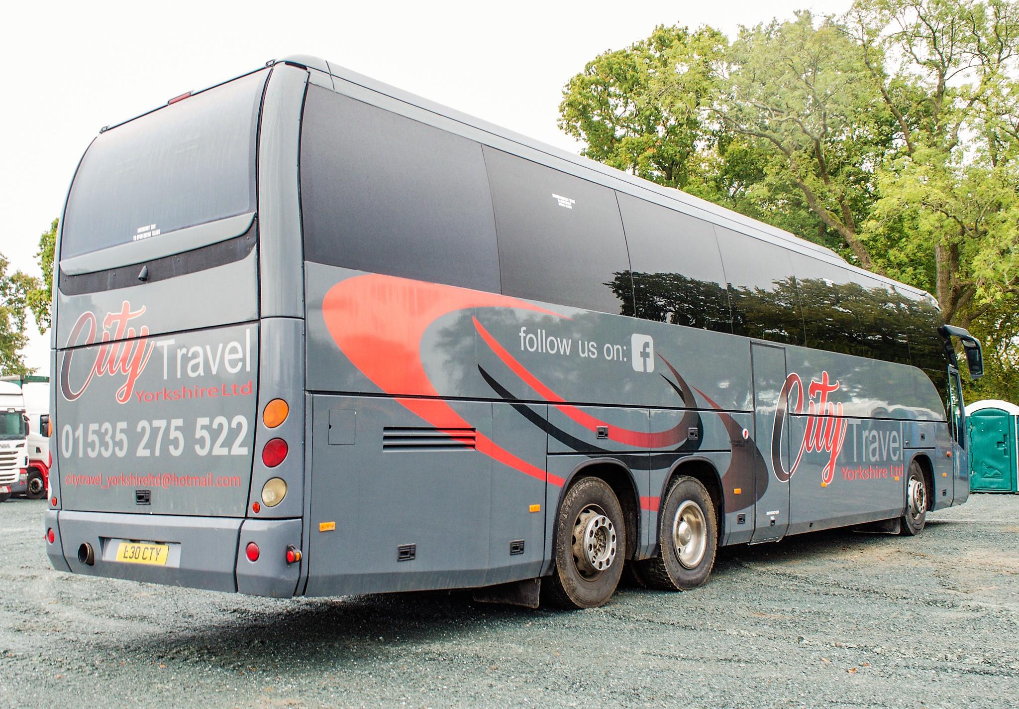 MAN F2000 Beulas Aura 54 seat luxury coach Registration Number: KC08 KTC Date of Registration: 30/ - Image 4 of 19