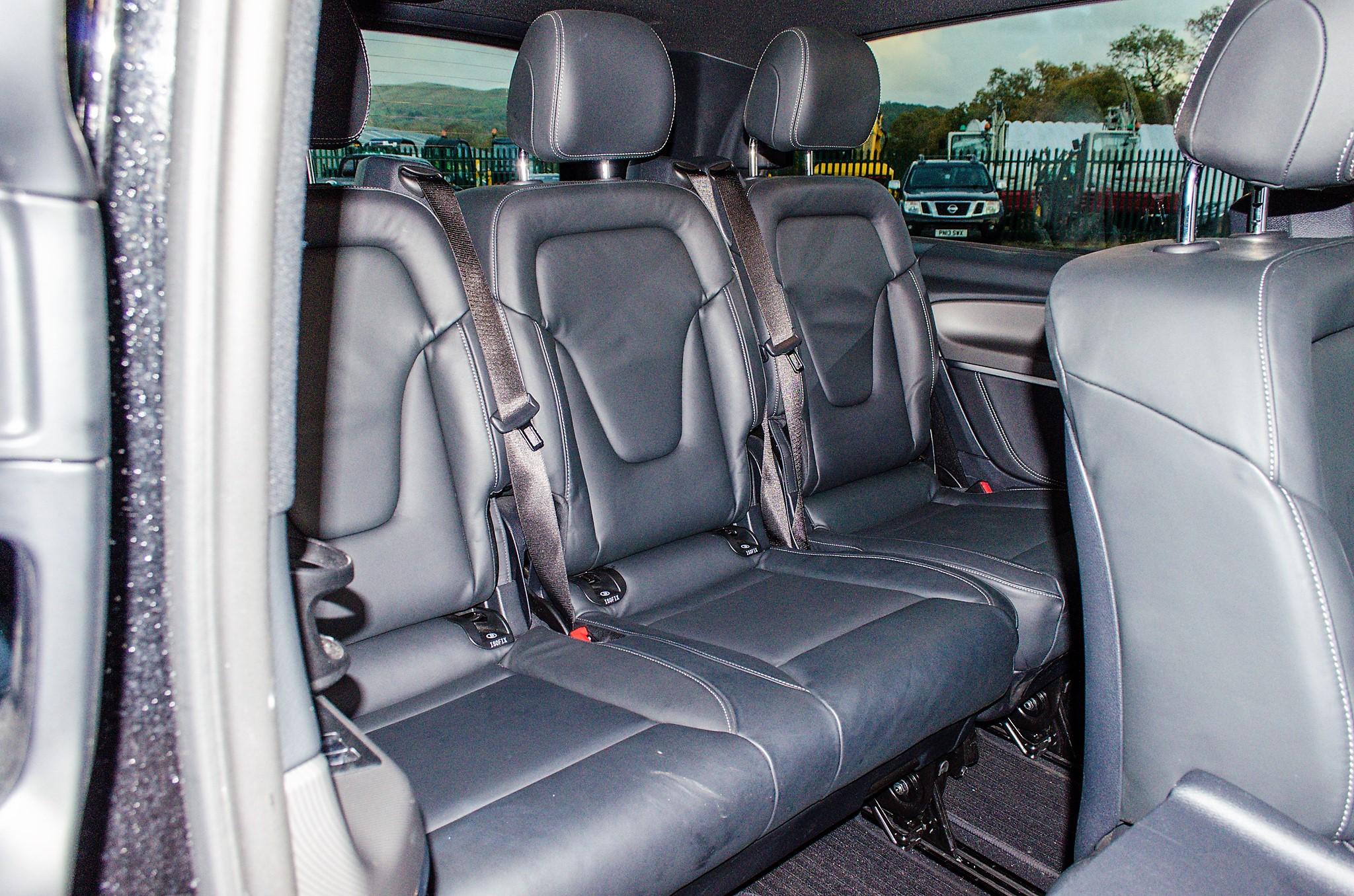 Mercedes Benz V250 Sport Bluetec XLWB auto diesel 8 seat MPV Reg No: FY68 JTO Date of First - Image 21 of 27