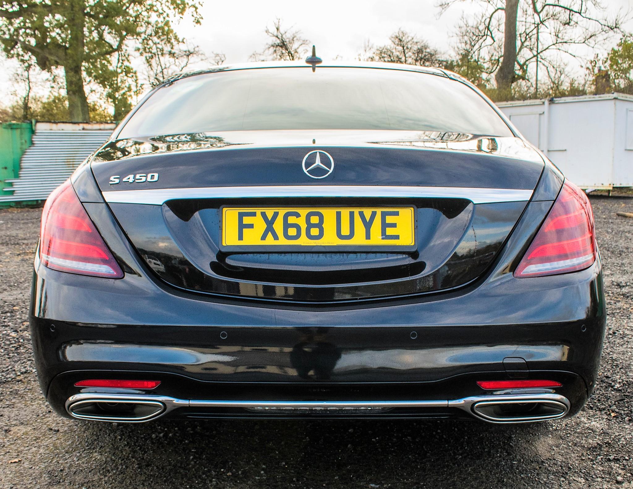 Mercedes Benz S450 L AMG Line Executive auto petrol 4 door saloon car Registration Number: FX68 - Image 6 of 33