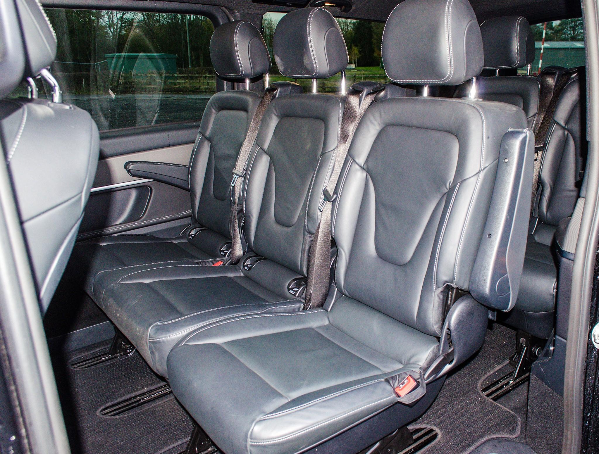 Mercedes Benz V250 Sport Bluetec XLWB auto diesel 8 seat MPV Reg No: FY68 JTO Date of First - Image 18 of 27