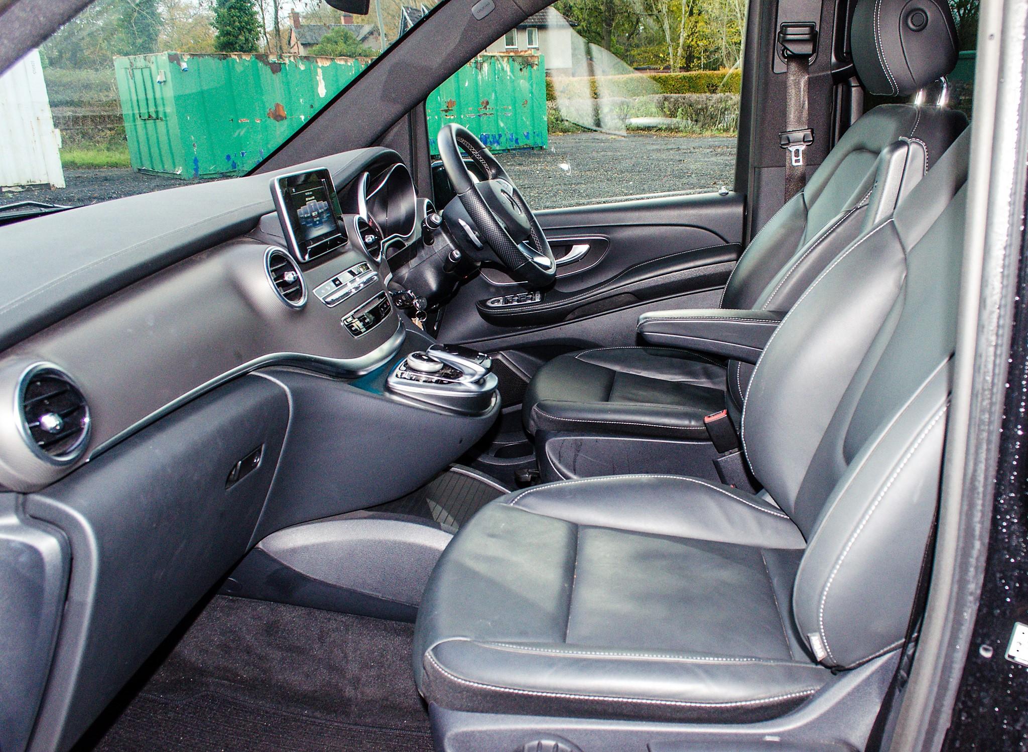 Mercedes Benz V250 Sport Bluetec XLWB auto diesel 8 seat MPV Reg No: FY68 JTO Date of First - Image 17 of 27