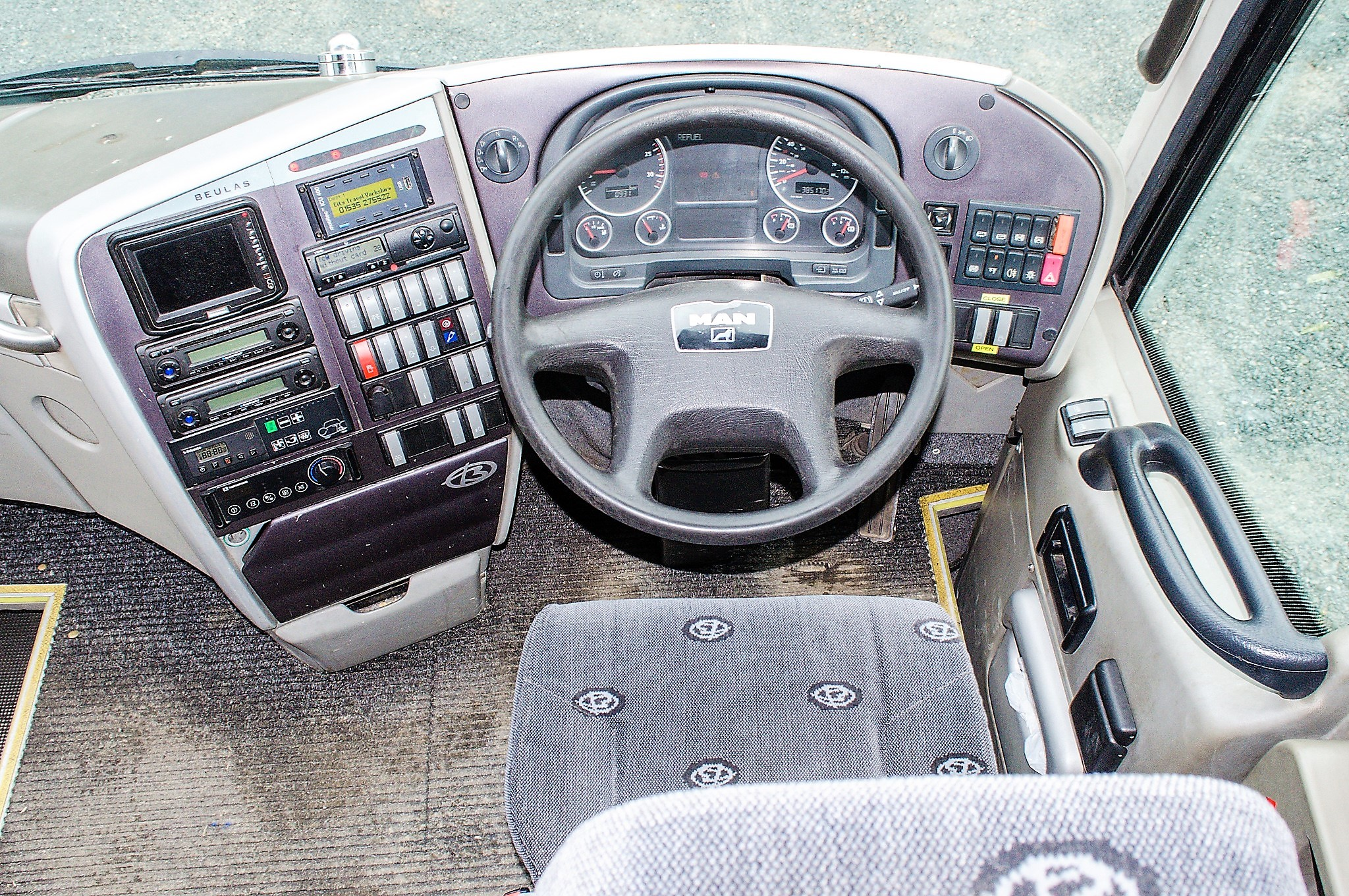 MAN F2000 Beulas Aura 54 seat luxury coach Registration Number: KC08 KTC Date of Registration: 30/ - Image 17 of 19
