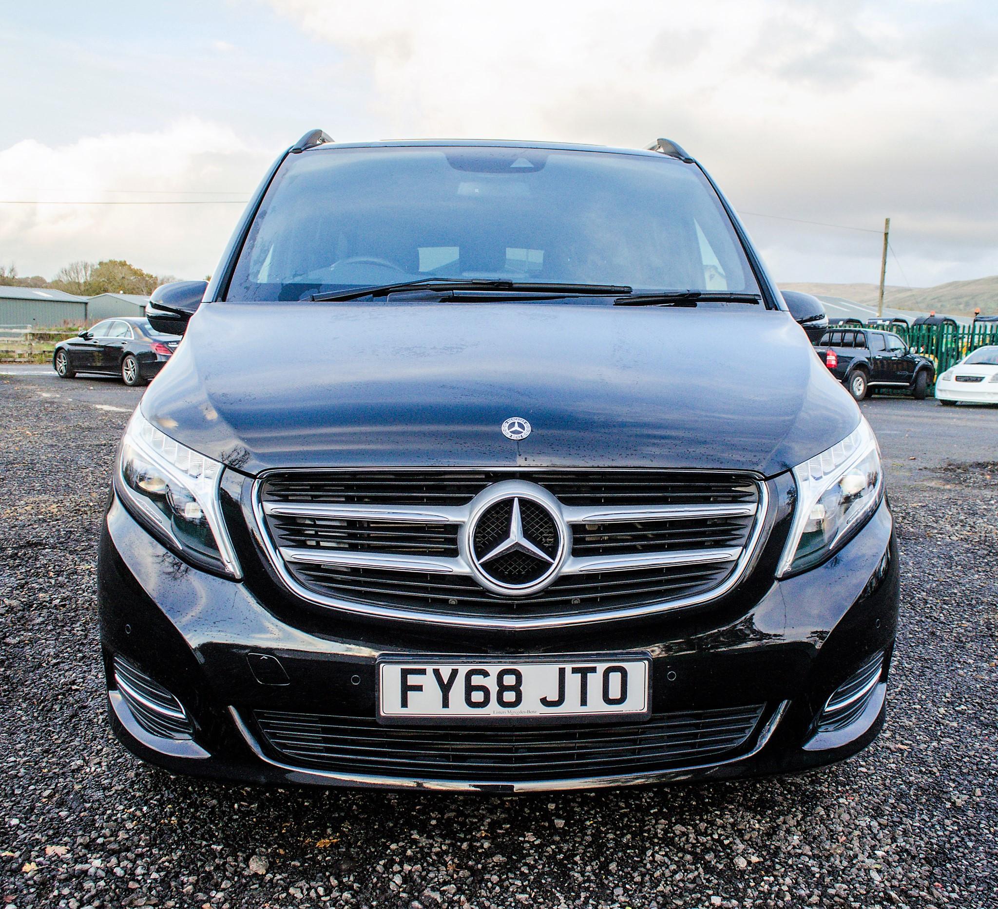 Mercedes Benz V250 Sport Bluetec XLWB auto diesel 8 seat MPV Reg No: FY68 JTO Date of First - Image 5 of 27