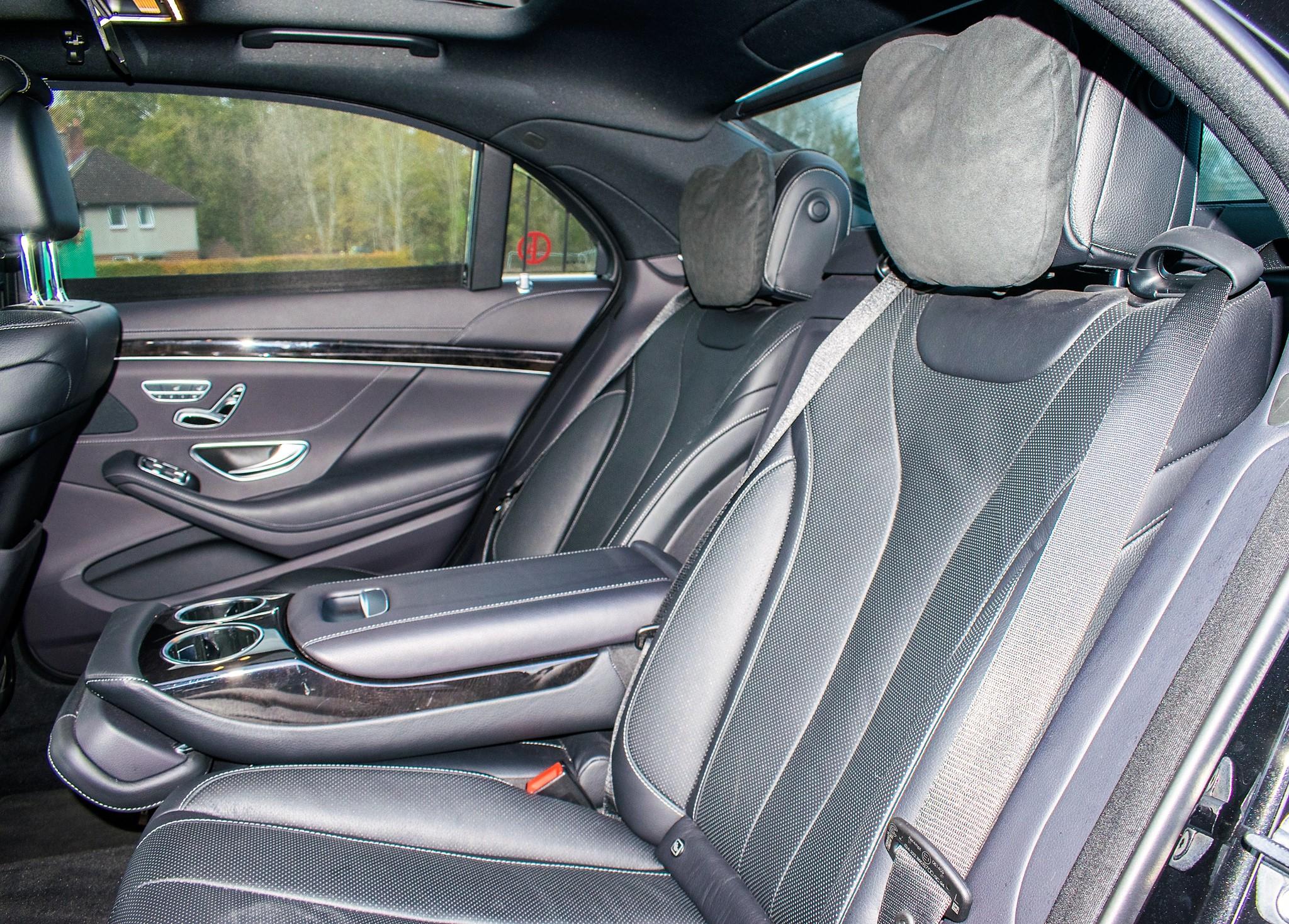 Mercedes Benz S450 L AMG Line Executive auto petrol 4 door saloon car Registration Number: FX68 - Image 23 of 33