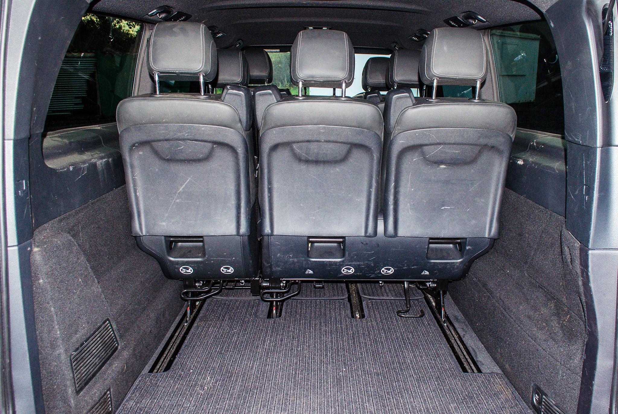 Mercedes Benz V250 Sport Bluetec XLWB auto diesel 8 seat MPV Reg No: FY68 JTO Date of First - Image 22 of 27