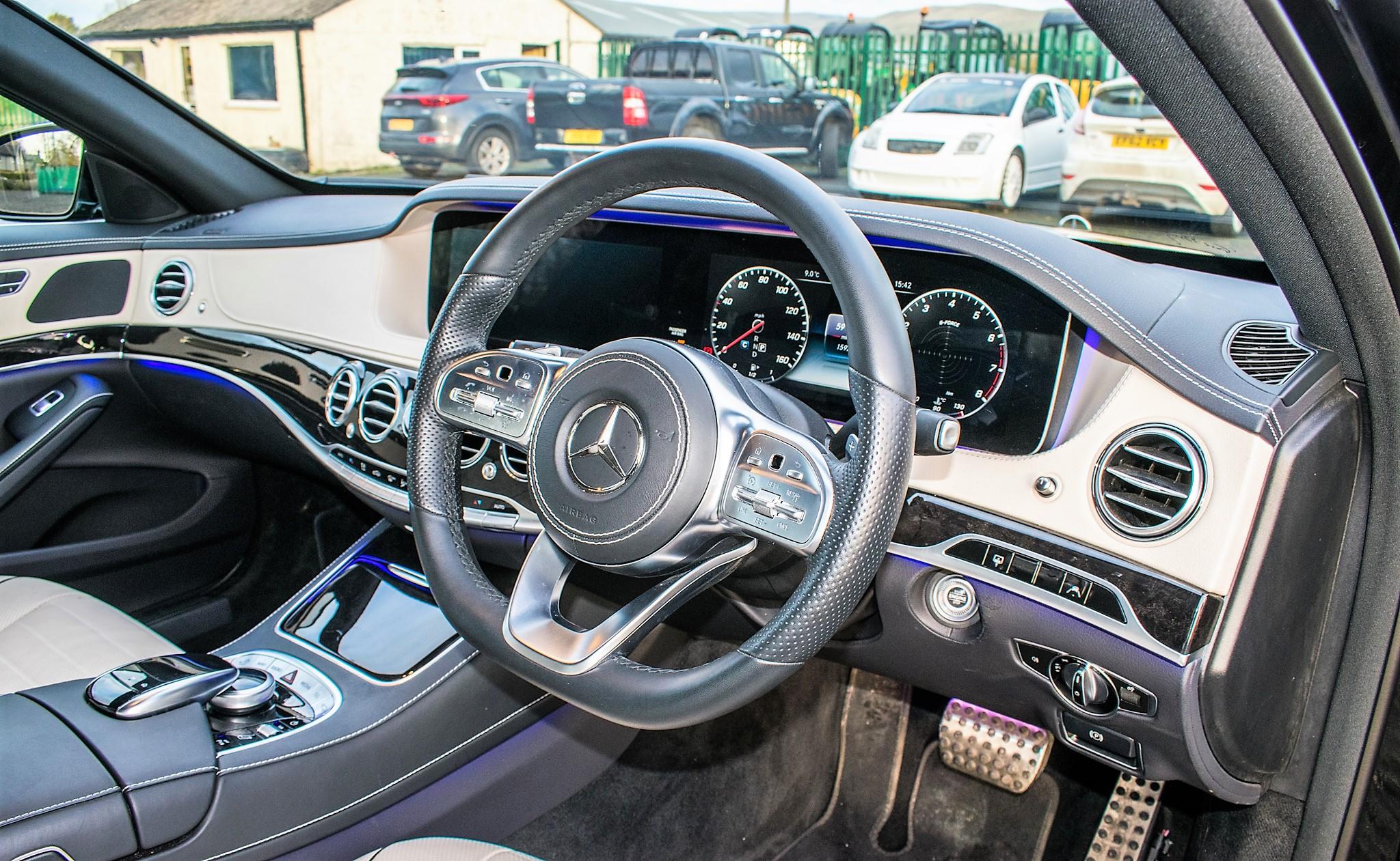 Mercedes Benz S450 L AMG Line Executive auto petrol 4 door saloon car Registration Number: FX68 - Image 24 of 33