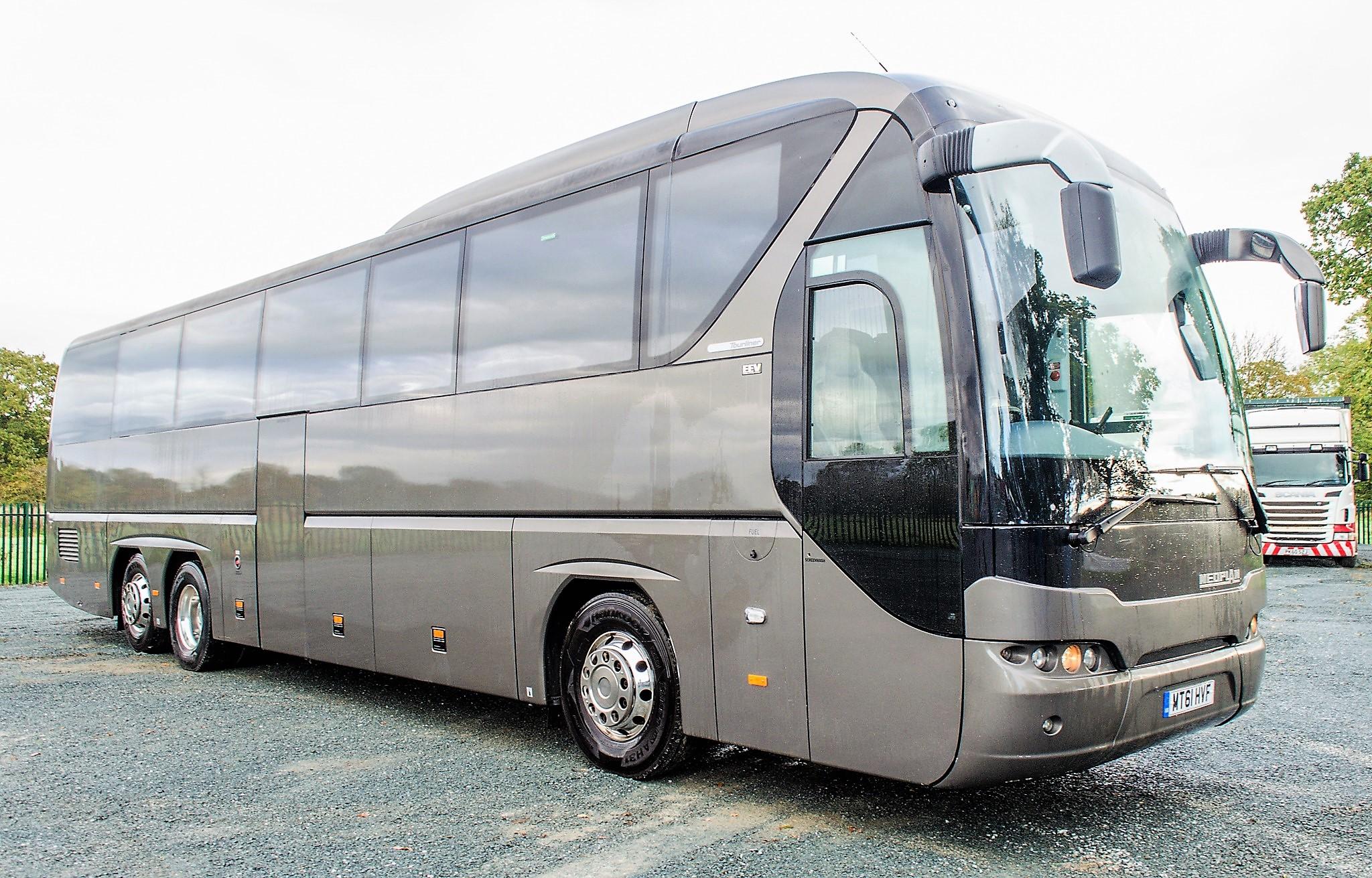 MAN Neoplan Tourliner 53 seat luxury coach Registration Number: MT61 HVF Date of Registration: 01/ - Image 2 of 21