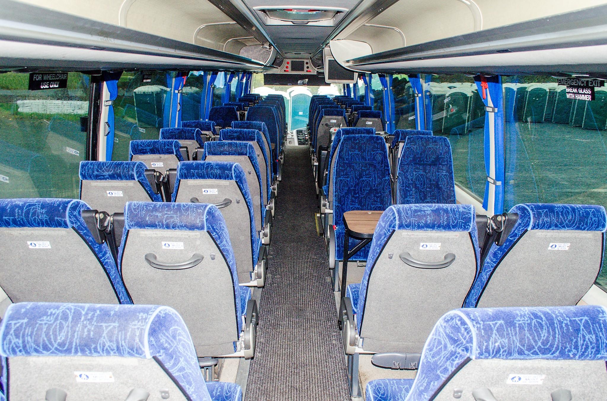 MAN F2000 Beulas Aura 54 seat luxury coach Registration Number: KC08 KTC Date of Registration: 30/ - Image 15 of 19