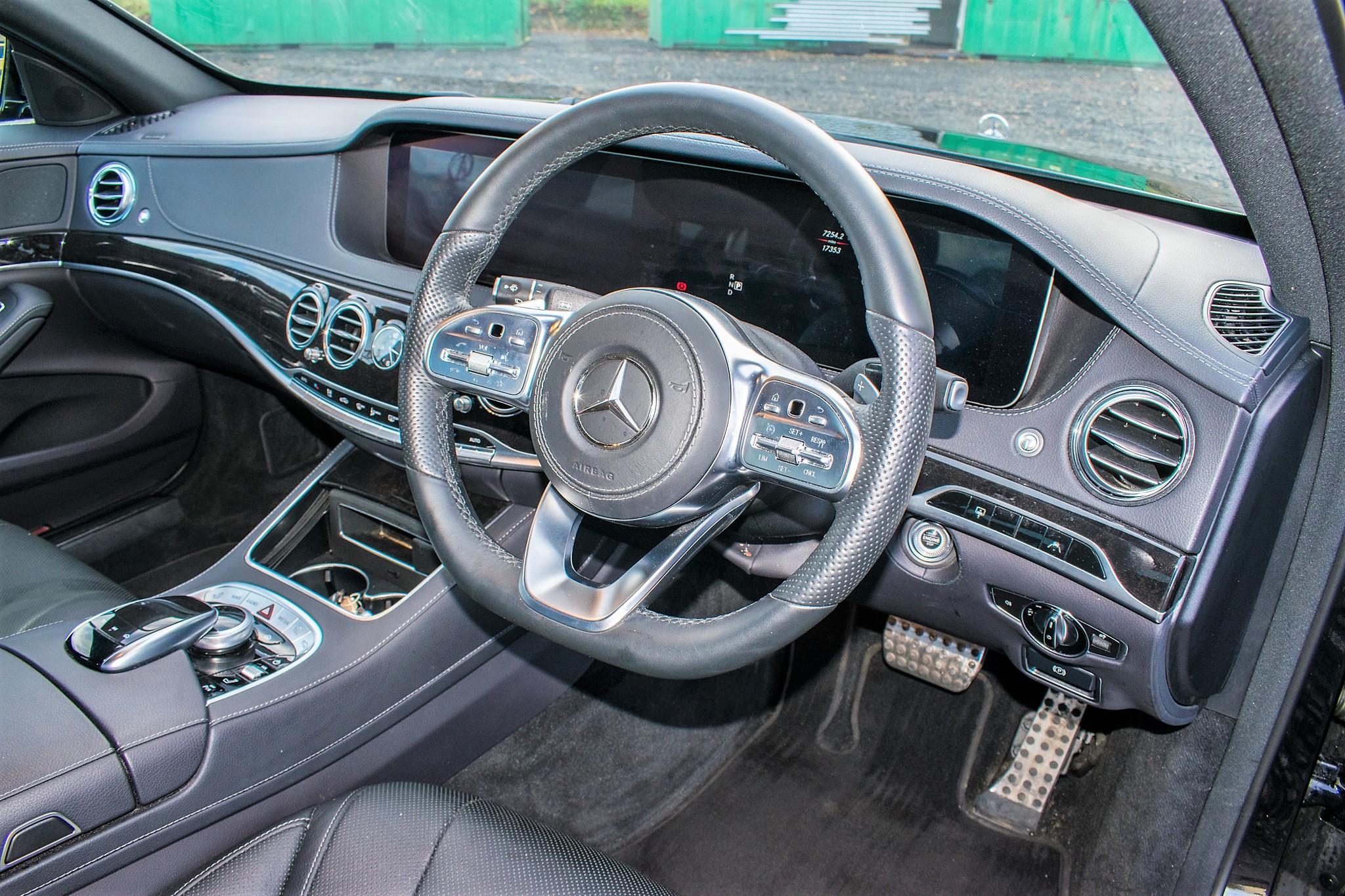 Mercedes Benz S450 L AMG Line Executive auto petrol 4 door saloon car Registration Number: FX68 - Image 21 of 33