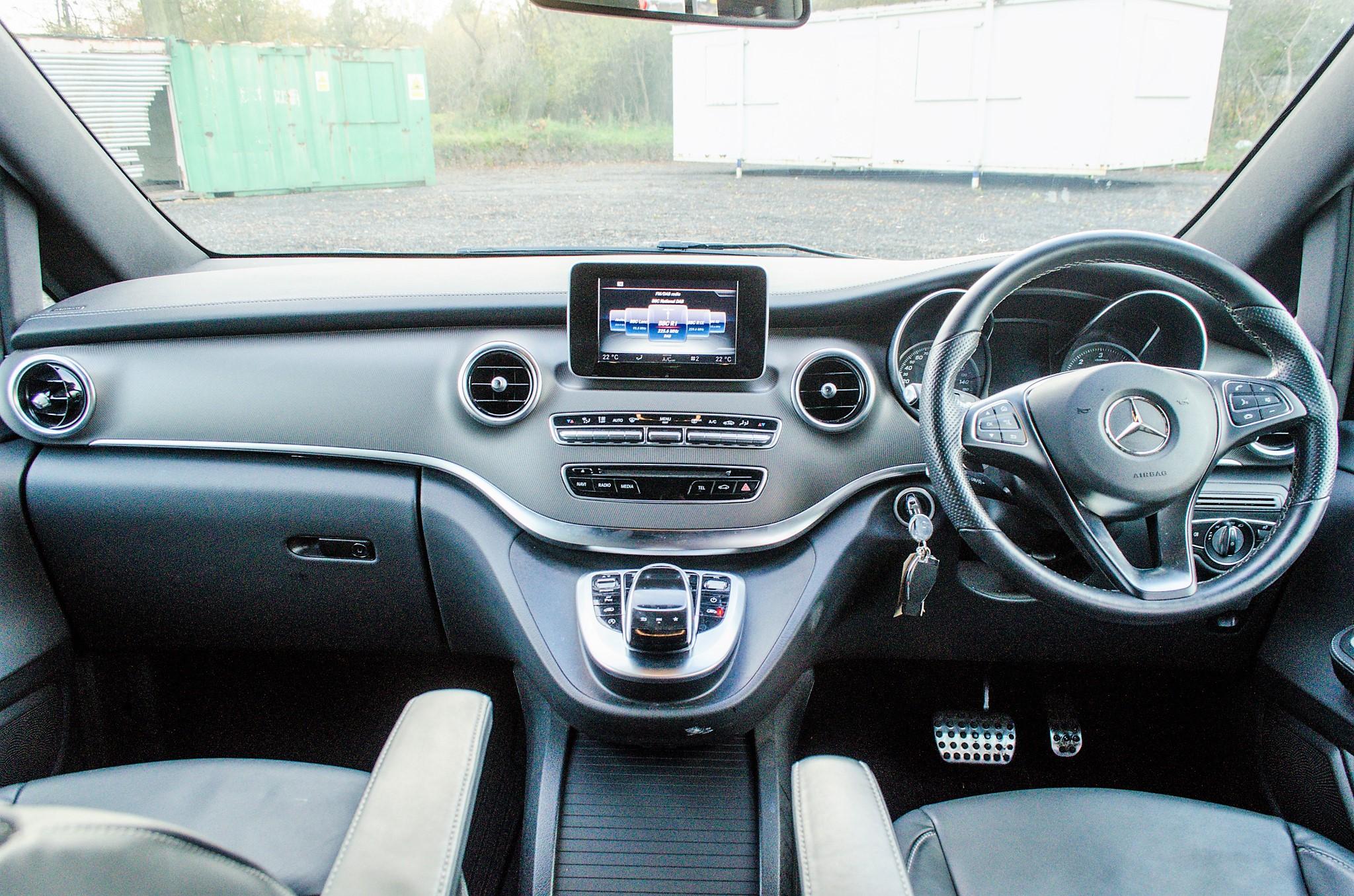 Mercedes Benz V250 Sport Bluetec XLWB auto diesel 8 seat MPV Reg No: FY68 JTO Date of First - Image 20 of 27