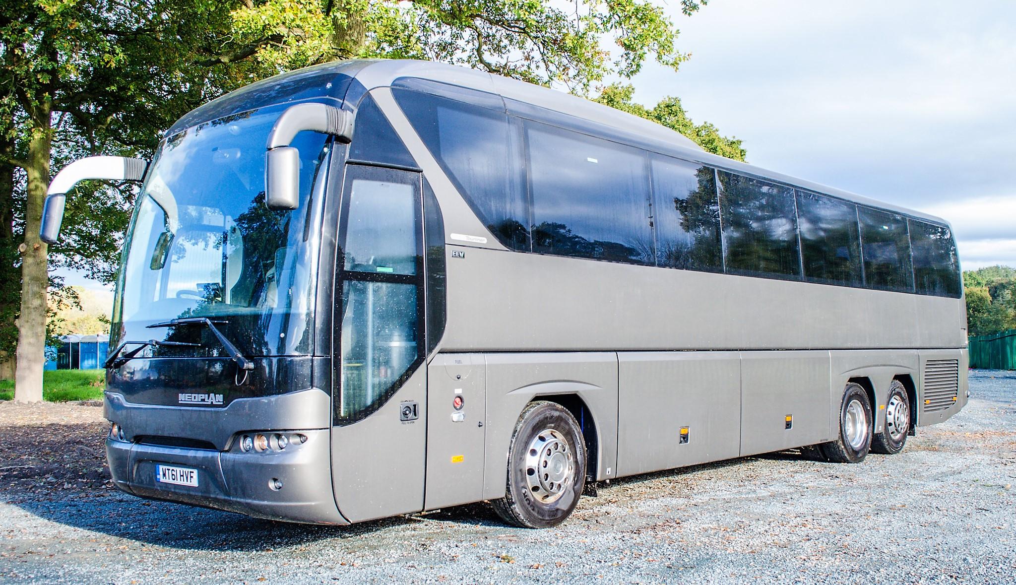 MAN Neoplan Tourliner 53 seat luxury coach Registration Number: MT61 HVF Date of Registration: 01/