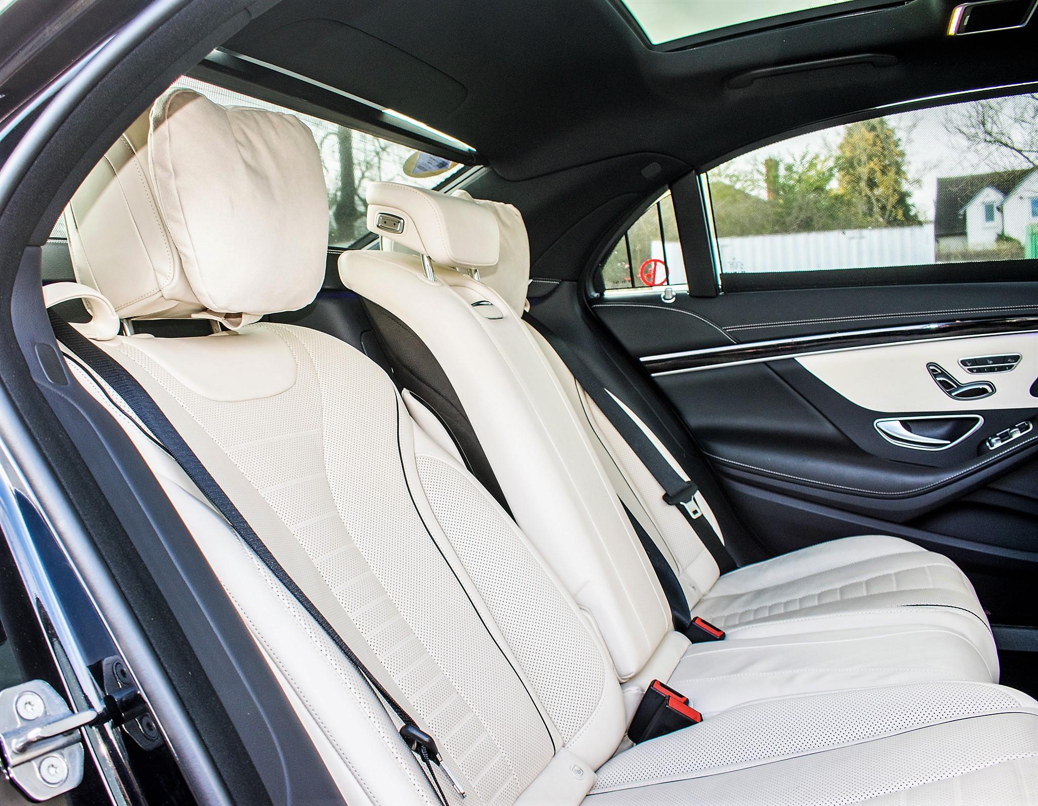 Mercedes Benz S450 L AMG Line Executive auto petrol 4 door saloon car Registration Number: FX68 - Image 24 of 30