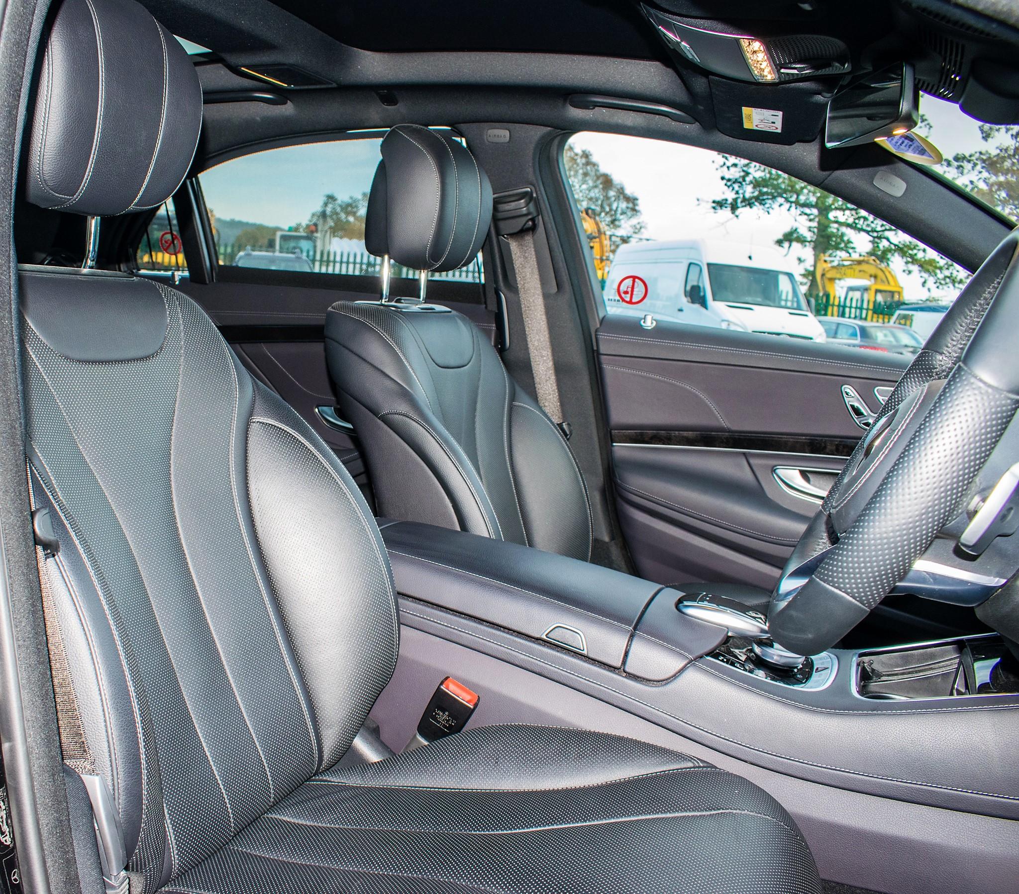 Mercedes Benz S450 L AMG Line Executive auto petrol 4 door saloon car Registration Number: FX68 - Image 20 of 33