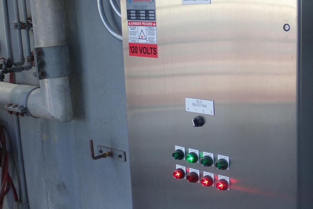 Industrial Automation SS control panel, w/ Allen Bradley Compact Logix L16ER PLC, for flour silos. * - Image 6 of 8