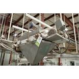 Wire belt conveyor, 36 in. long x 18 in. wide, suspended from ceiling. **Rigging Fee: $250**