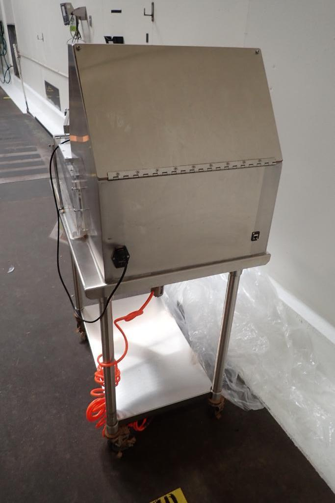 Gemco vacuum burst tester, Model SIV III, SN: 263, on SS cart. **Rigging Fee: $75** - Image 6 of 8