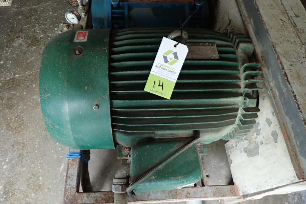 Tuthill 7.5 hp blower package. **Rigging Fee: $300** - Image 5 of 7