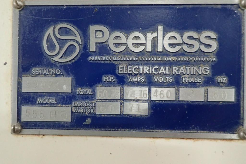 Lot 39 - Peerless roller bar mixer, Model 555 HD, SN: 89074.**Rigging Fee: $1500**