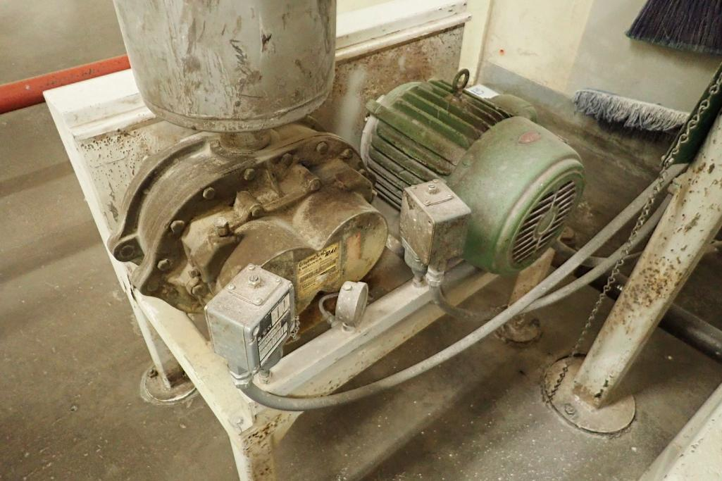 10 HP Roots blower package. SN: SR00012010. **Rigging Fee: $250** - Image 2 of 5