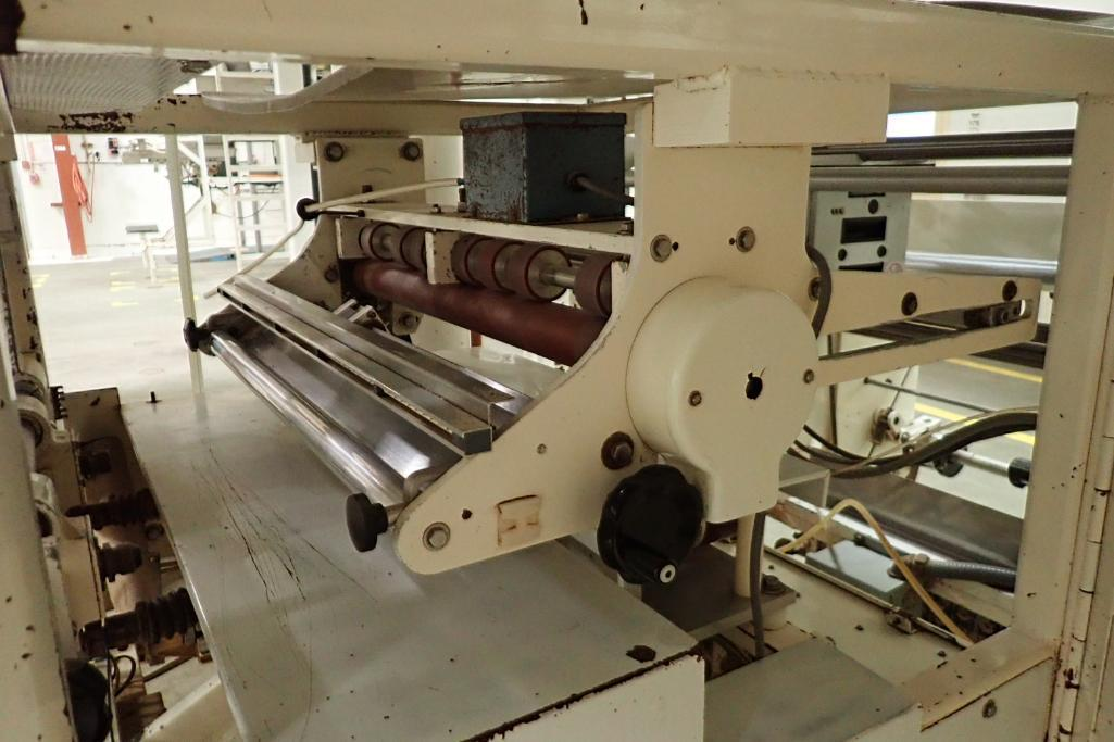 1984 Hayssen Bagger, Model S.F, SN: U16721, 12 in. jaw, 20 in. web, making 15 oz. bags. **Rigging Fe - Image 11 of 16