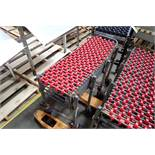 Best Flex flexible skate conveyor, 12 in. wide. **Rigging Fee: $10**