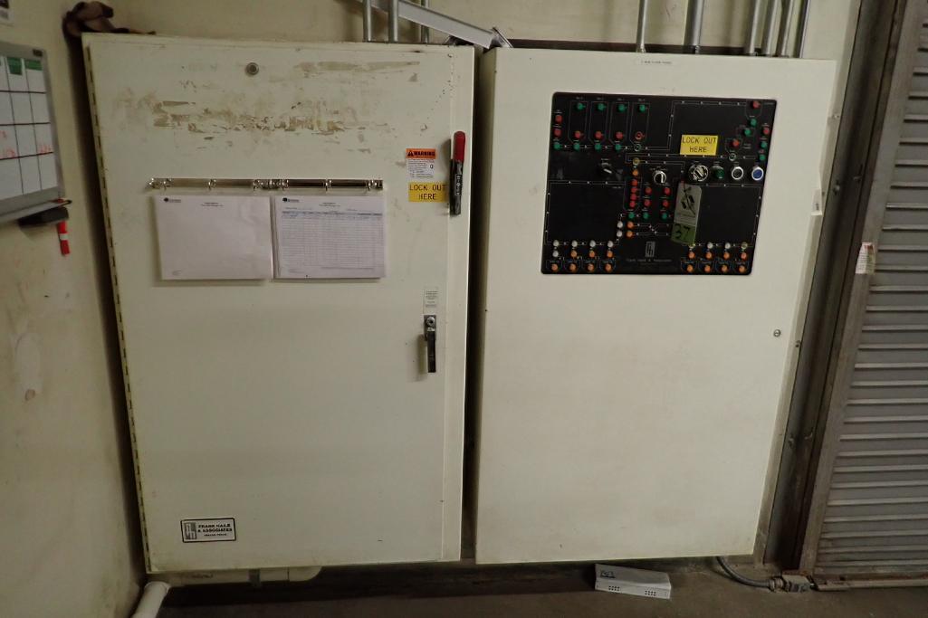 Lot 37 - Mild Steel control panel for flour silos. **Rigging Fee: $400**