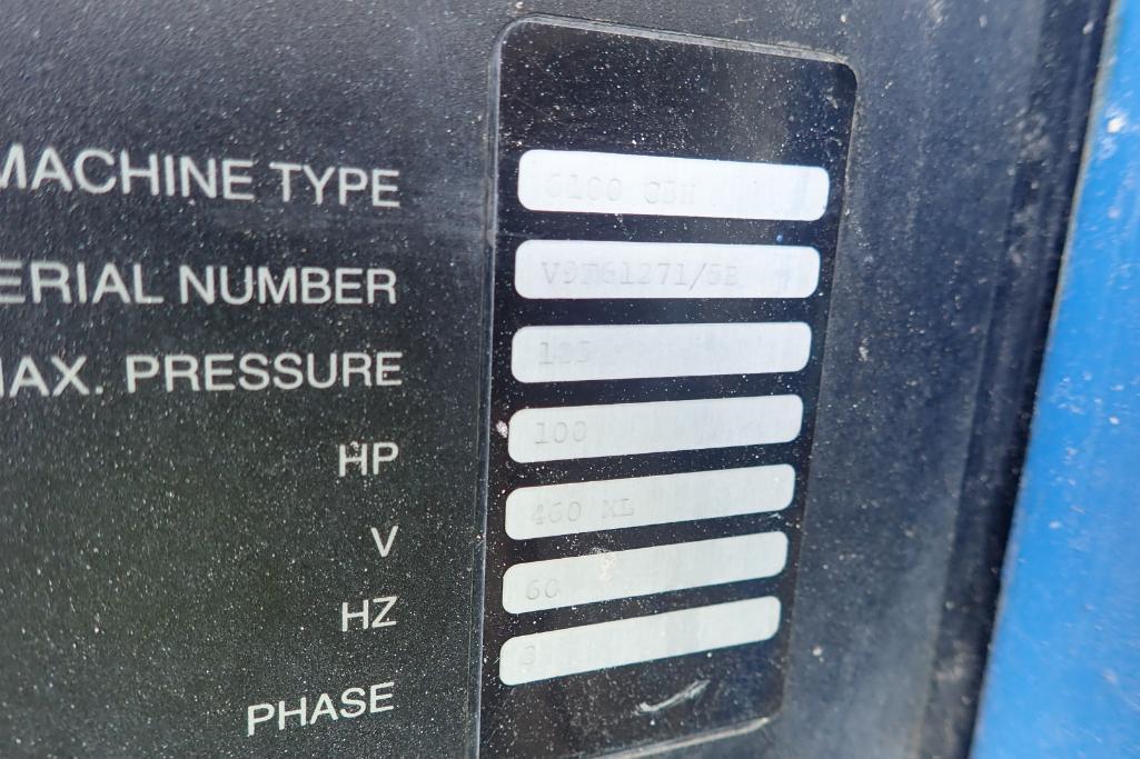 CompAir Kellogg 6000 air compressor, type 6100 C5H, SN V9F61271/5E, 33,000 hours. **Rigging Fee: $15 - Image 5 of 7
