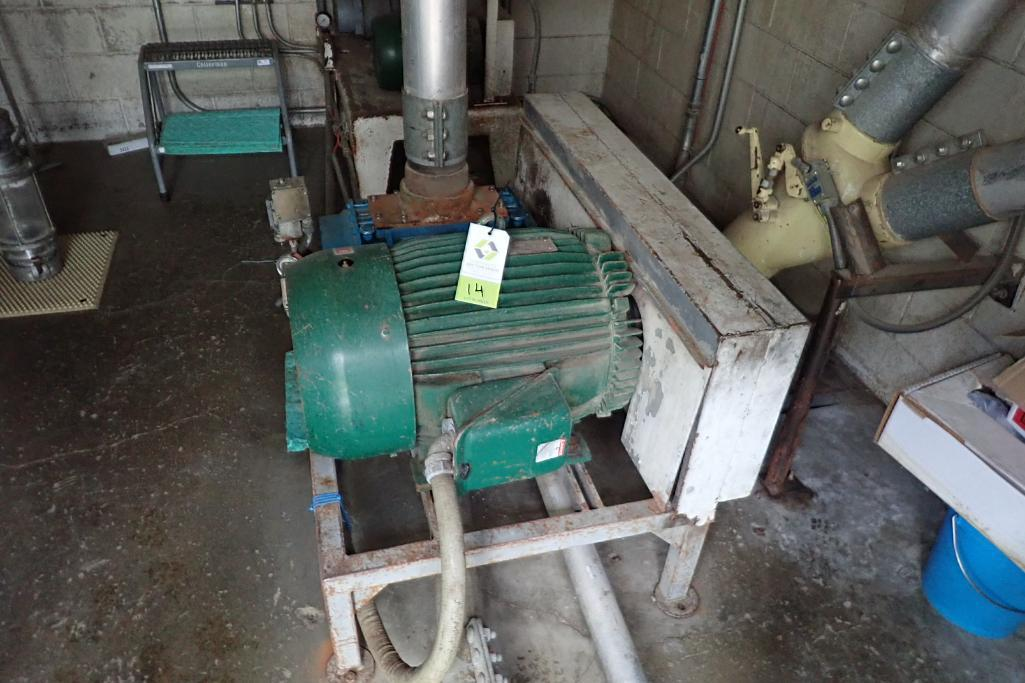 Tuthill 7.5 hp blower package. **Rigging Fee: $300**