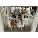 1984 Hayssen Bagger, Model S.F, SN: U16721, 12 in. jaw, 20 in. web, making 15 oz. bags. **Rigging Fe