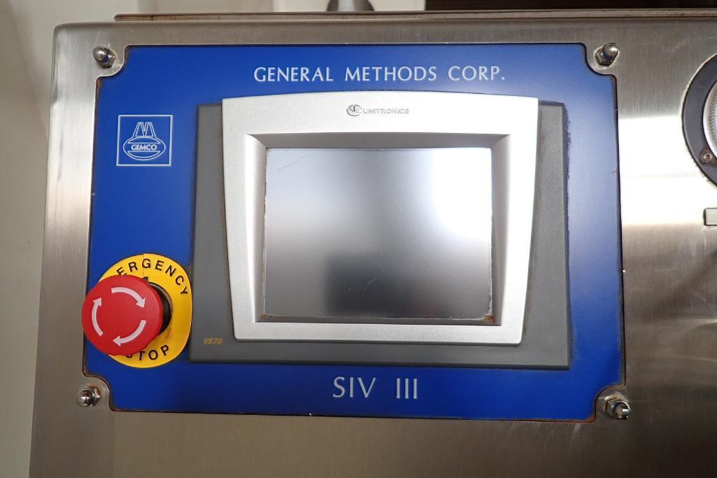 Gemco vacuum burst tester, Model SIV III, SN: 263, on SS cart. **Rigging Fee: $75** - Image 3 of 8