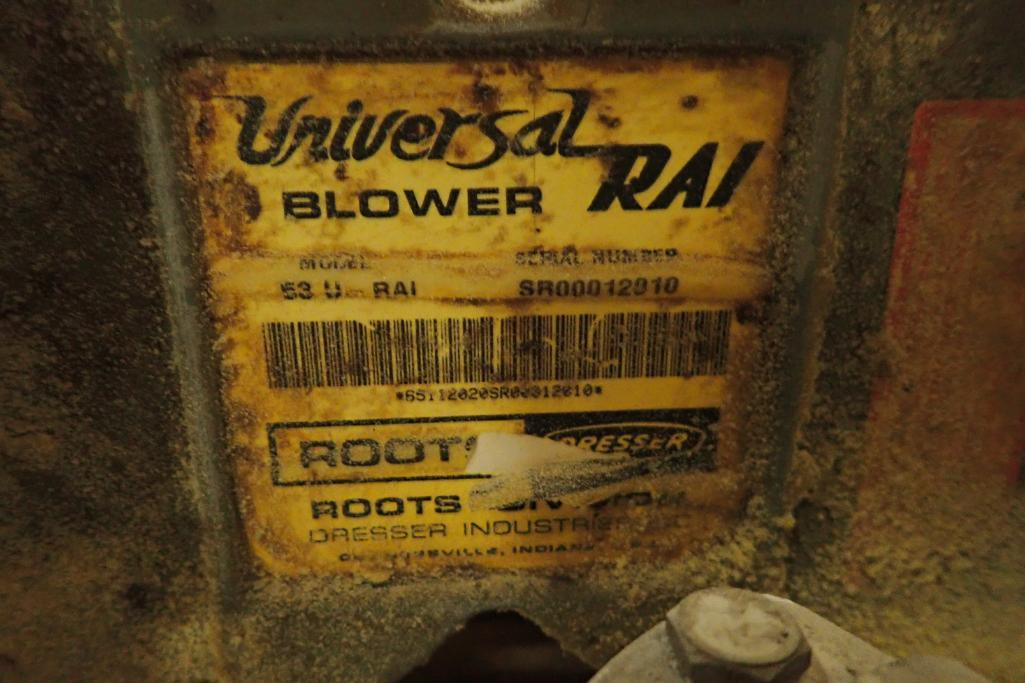 10 HP Roots blower package. SN: SR00012010. **Rigging Fee: $250** - Image 3 of 5