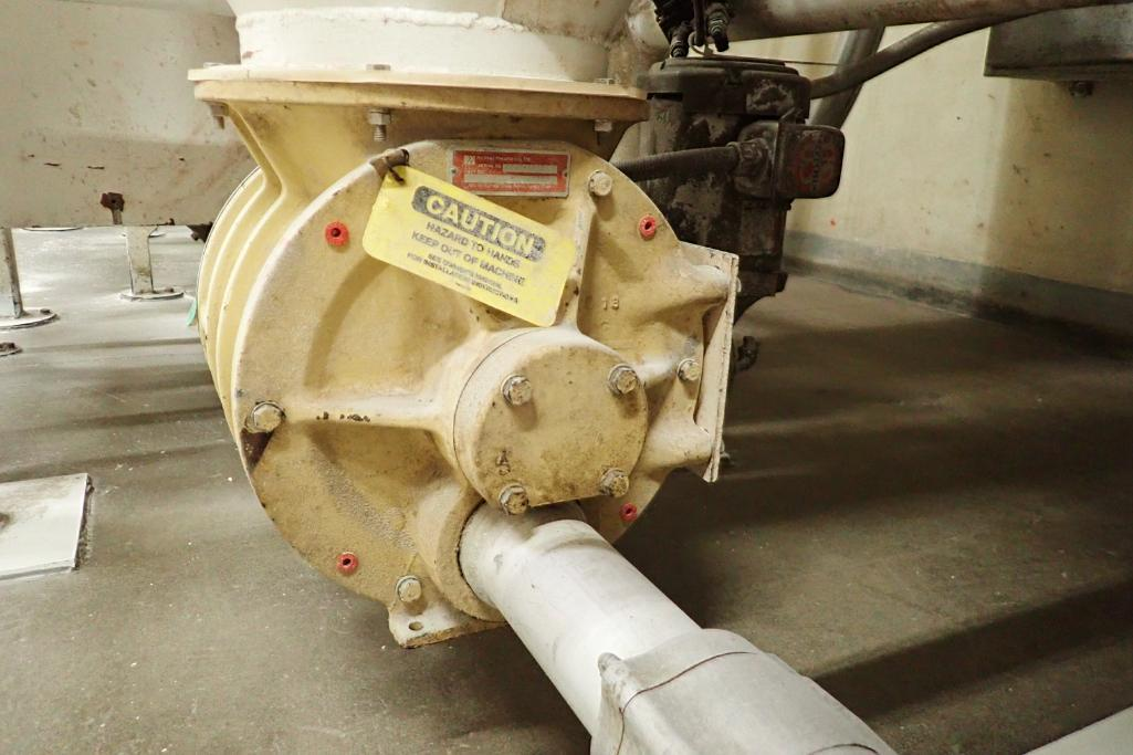 Use bin 10 ft. tall x 48 in. dia., with 10 in. rotary valve, (#1). **Rigging Fee: $600** - Image 4 of 7