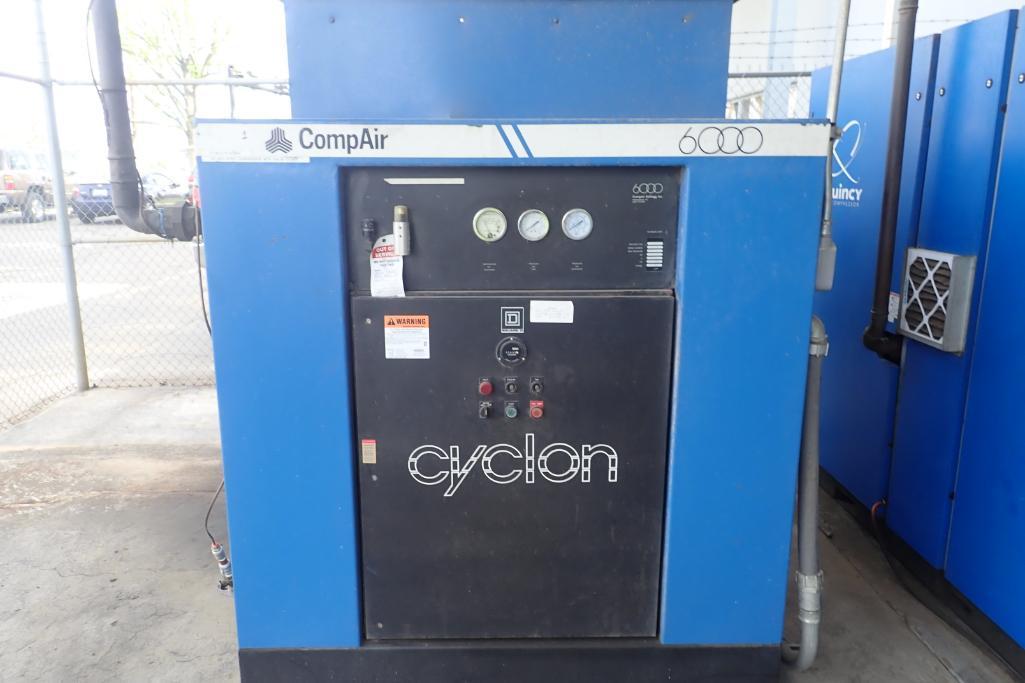 CompAir Kellogg 6000 air compressor, type 6100 C5H, SN V9F61271/5E, 33,000 hours. **Rigging Fee: $15 - Image 2 of 7