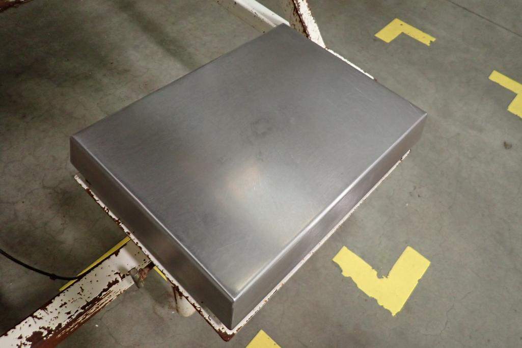 Best Weigh scale, Model DWM-IV/PWC/A, SN F-9531, capacity 200 lbs. x . 05, 19 in. long x 13 in. wide - Image 2 of 6