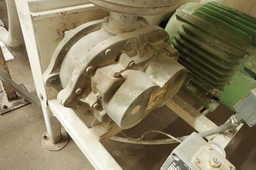 20 HP Roots blower package. **Rigging Fee: $250** - Image 3 of 8