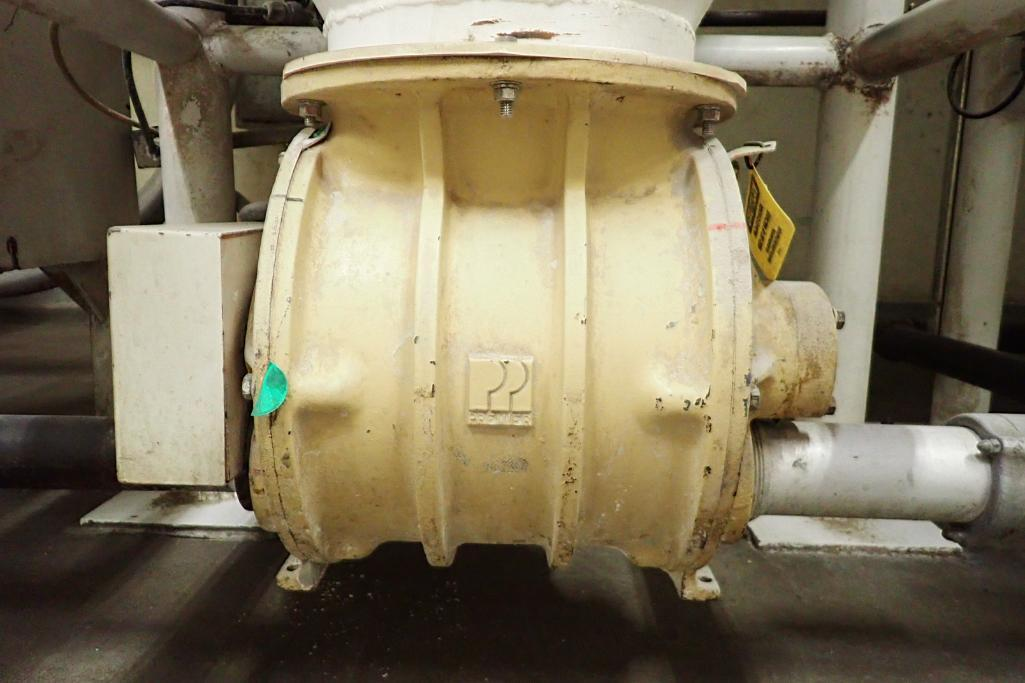 Use bin 10 ft. tall x 48 in. dia., with 10 in. rotary valve, (#1). **Rigging Fee: $600** - Image 5 of 7