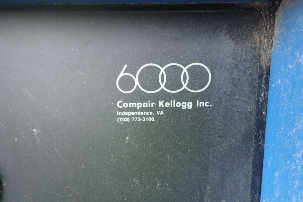 CompAir Kellogg 6000 air compressor, type 6100 C5H, SN V9F61271/5E, 33,000 hours. **Rigging Fee: $15 - Image 4 of 7